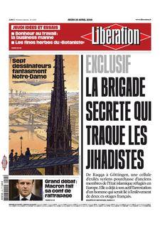 Libération du 25-04-2019