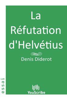 La Réfutation d'Helvétius de Denis Diderot - fiche descriptive