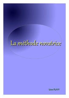METHODE NOVATRICE BACCALAUREAT*** - Léon Flavy