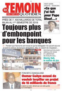 Le Temoin du 04-10-2019 - Le Temoin