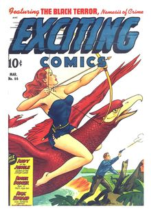 Lire Exciting Comics 066 (paper+2fiche) -JVJ de