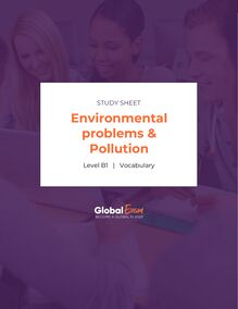 Environmental problems & Pollution