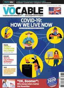 Magazine Vocable Anglais -  Du 15 au 28 octobre 2020