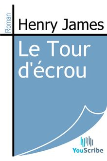 Le Tour d'écrou de Henry James - fiche descriptive