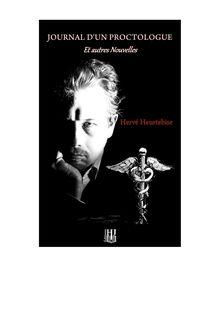 Journal d'un proctologue et autres nouvelles de Hervé HEURTEBISE - fiche descriptive