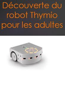 Apprendre le code à des adultes grâce au robot Thymio
