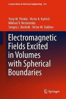 Electromagnetic Fields Excited in Volumes with Spherical Boundaries