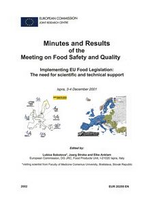 Minutes and results of the Meeting on Food Safety and Quality