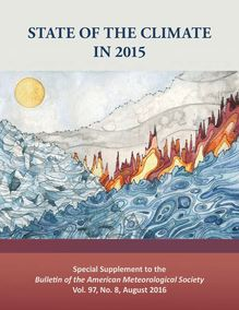 "Réchauffement climatique : rapport ""State of Climate 2015"""