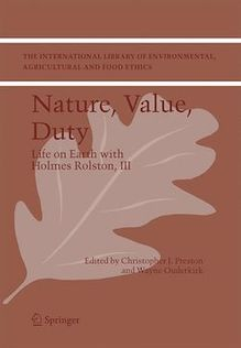 Nature, Value, Duty