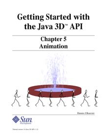 Getting Started with the Java 3D API