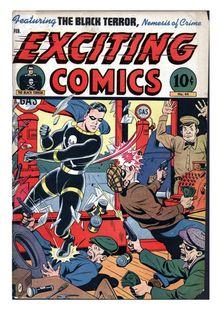 Exciting Comics 044 de  - fiche descriptive