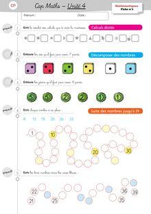 Mathématiques CP – Période 2 - Unité 4 Exercices