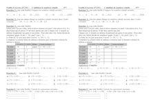 Exercice : addition et soustraction de nombres relatifs