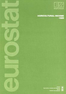 Agricultural income 1989