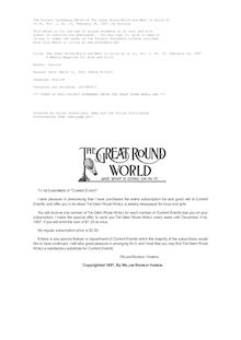The Great Round World and What Is Going On In It, Vol. 1, No. 15, February 18, 1897 - A Weekly Magazine for Boys and Girls