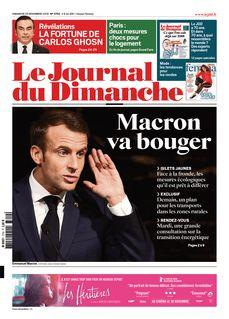 Le Journal du Dimanche du 25-11-2018 - Le Journal du Dimanche