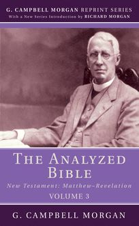 The Analyzed Bible, Volume 3