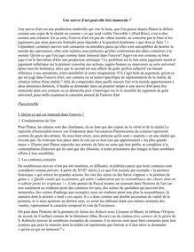 Corrigé bac 2014 (Pondichéry) - Série S - Philo - Une oeuvre d'art peut-elle être immorale ?