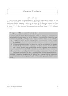 Accompagnement personnalisé, Probabilités Problèmes (2)