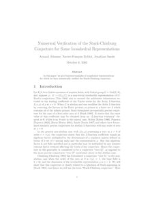 Numerical Verification of the Stark Chinburg Conjecture for Some Icosahedral Representations