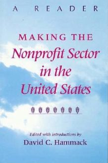 Making the Nonprofit Sector in the United States