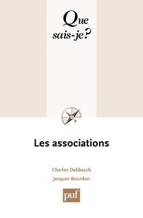 Les associations - Charles Debbasch, Jacques Bourdon