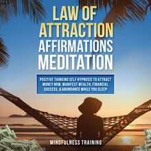 Law of Attraction Affirmations Meditation: Positive Thinking Self Hypnosis to Attract Money Now, Manifest Wealth, Financial Success, & Abundance While You Sleep (Self Hypnosis, Affirmations, Guided Imagery & Relaxation Techniques)