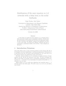 Stabilization of the wave equation on d