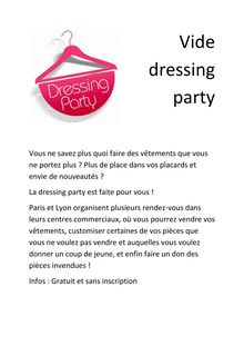 Dressing party