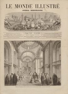 LE MONDE ILLUSTRE  N° 261 du 12 avril 1862