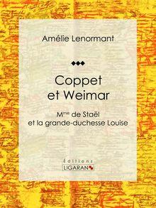 Coppet et Weimar de Amélie Lenormant, Ligaran - fiche descriptive