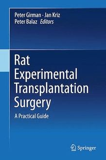 Rat Experimental Transplantation Surgery