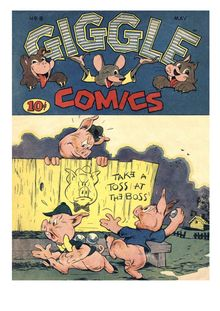 Giggle Comics 008 de  - fiche descriptive