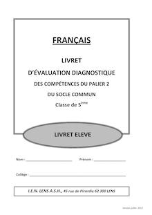 Exercices de rédaction - français 5ème