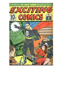 Exciting Comics 009 (fiche+paper)-c2c de  - fiche descriptive