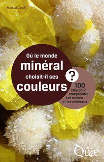 Où le monde minéral choisit-il ses couleurs ? de Martial Caroff - fiche descriptive