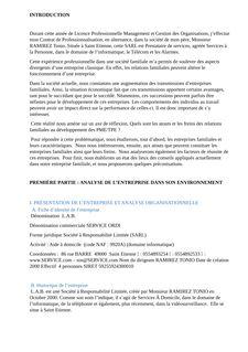 Les entreprises familiales - Helene Benoit