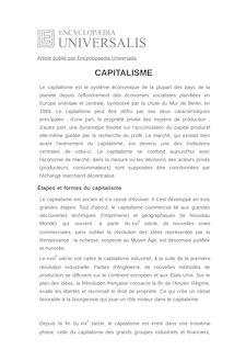 Définition et synonyme de : CAPITALISME - DOMINIQUE PLIHON