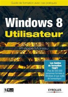 Windows 8 - Utilisateur de Moreau Philippe - fiche descriptive
