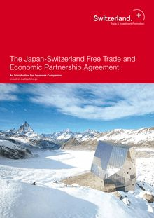 The Japan-Switzerland Free Trade and Economic Partnership Agreement.