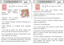 Littérature CP/CE1 – Période 5 - CP – La reine des bisous La reine des bisous cahier de lecture