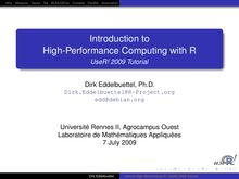 Introduction to High-Performance Computing with R - UseR ...