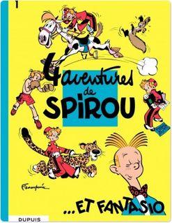 Spirou et Fantasio - Tome 1 - 4 AVENTURES DE SPIROU ET FANTASIO - Franquin
