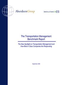 The Transportation Management Benchmark Report