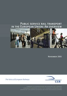 Public service rail transport in the European Union : an overview.