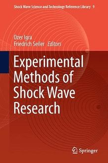 Experimental Methods of Shock Wave Research