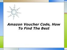 Amazon Voucher Code How To Find The Best
