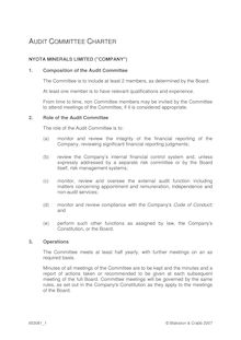 Audit Committee Charter 653081 1