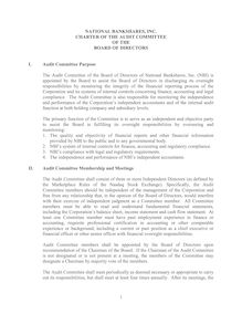 Audit Committee Charter web version 2007